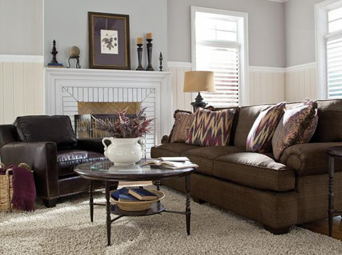 King Hickory - Henson Fabric Sofa - 6000