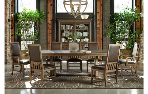 Legacy Classic Furniture - Trestle Dining Table - 5610-622