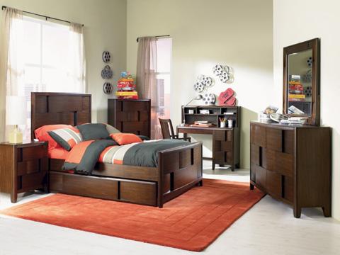 Magnussen Home - Twin Panel Bed - Y1876-54
