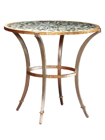 Marge Carson - Round End Table - SNA04
