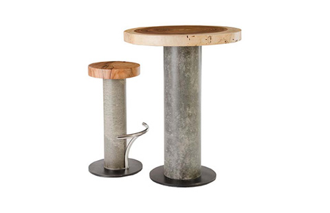 Phillips Collection - Concrete Barstool - TH78368