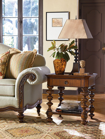Thomasville Furniture - Basque End Table - 46231-210