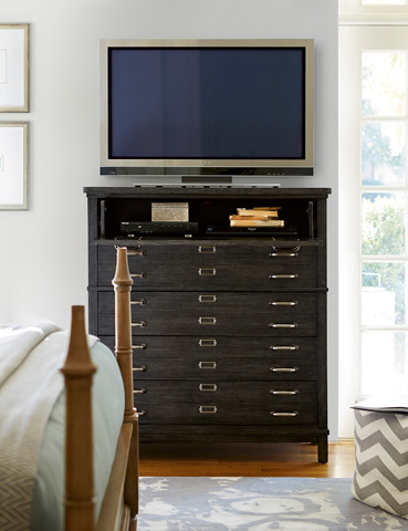 Universal Furniture - Moderne Muse Media Chest - 414180