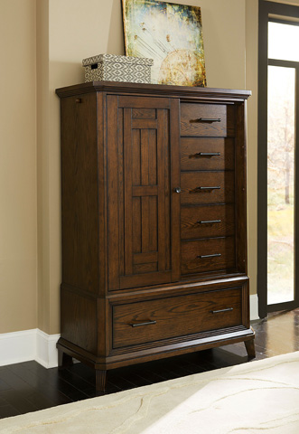 Broyhill Furniture - Estes Park Sliding Door Chest - 4364-242