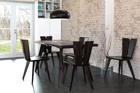 Copeland Furniture - Axis Table - 6-AXS-42-84