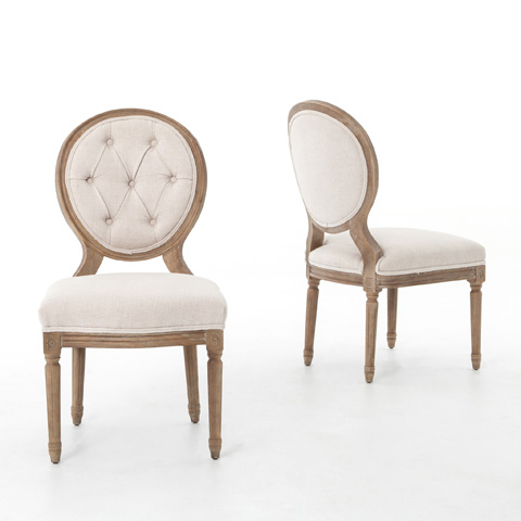 Image of Bespoke Natural Stella Dining Chair