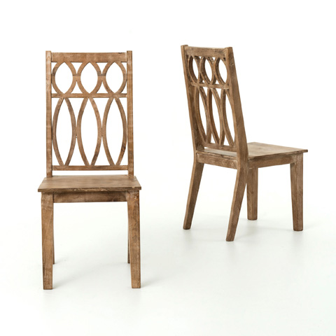 Image of Whitewash Magnolia Dining Chair
