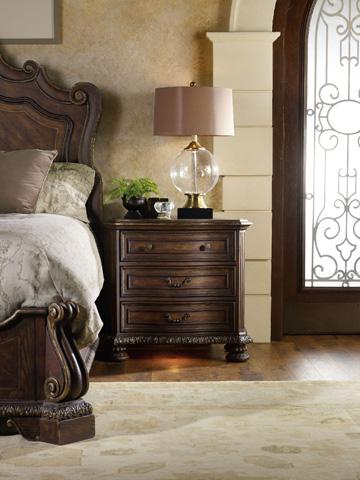 Hooker Furniture - Adagio Three Drawer Nightstand - 5091-90016