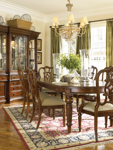 Thomasville Furniture - Oval Dining Table - 43421-762