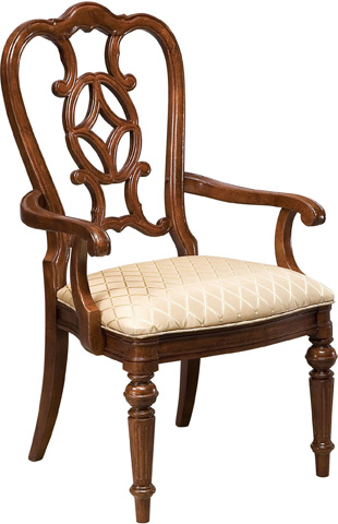 Thomasville Furniture - Scroll Back Arm Chair - 43421-842
