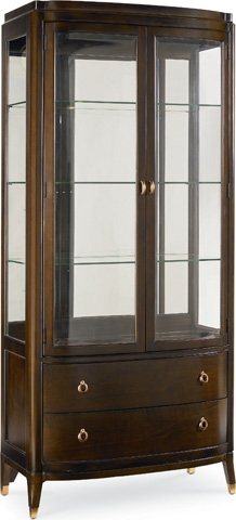 Thomasville Furniture - Bunching Curio Cabinet - 45521-410