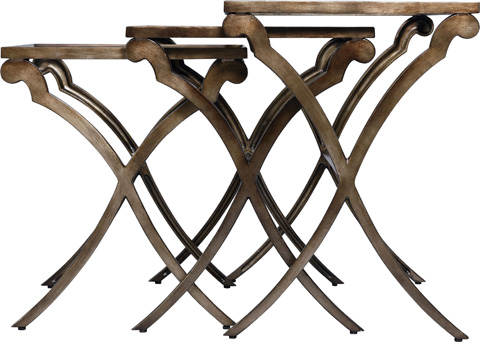 Thomasville Furniture - Glass Top Nesting Tables - 82291-245