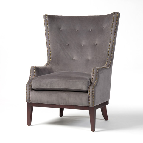 Image of Grey Lillian Occasional Chair