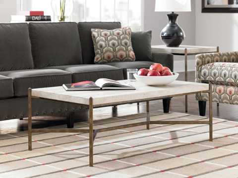 Thomasville Furniture - Stone Top Cocktail Table - 82191-121