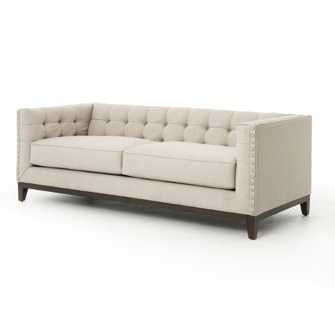 Image of Greenwich Tufted Sofa