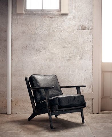 Image of Ebony Brooks Lounge Chair