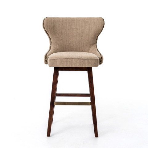 Image of Hyde Clay Julie Swivel Counterstool