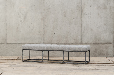 Image of Metal Bench