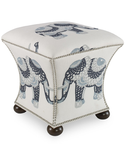 Image of Square Hassock Ottoman