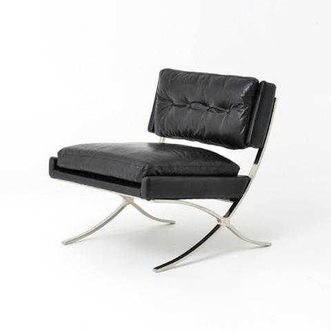 Image of Old Saddle Black Heathrow Lounge Chair