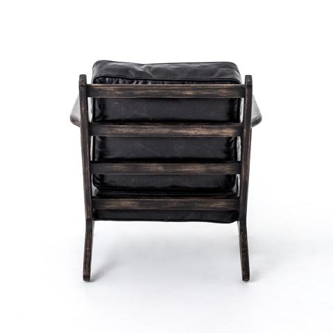 Four Hands - Ebony Brooks Lounge Chair - CIRD-72K5-G6H6