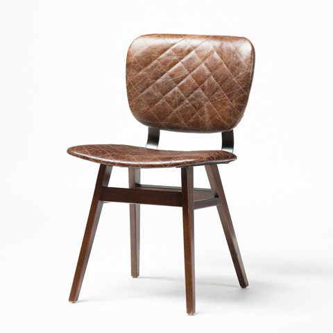 Four Hands - Quilted Havana Sloan Dining Chair - CIRD-83H5E1-G2A5