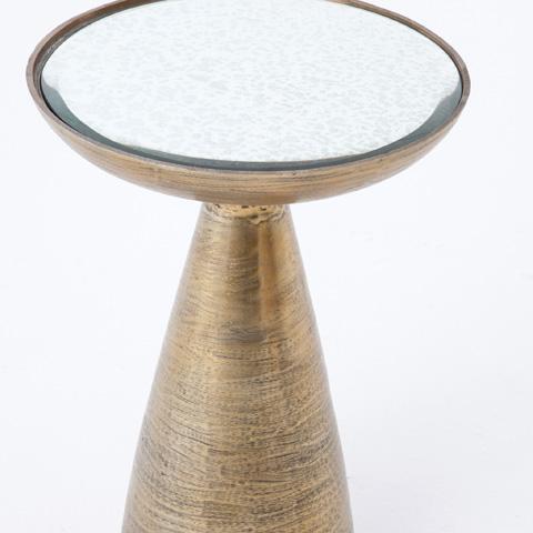 Four Hands - Marlow Mod Pedestal Table - IMAR-48-BBS