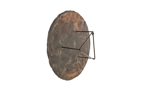Phillips Collection - Galvanized Circle Wall Tile - TH58367