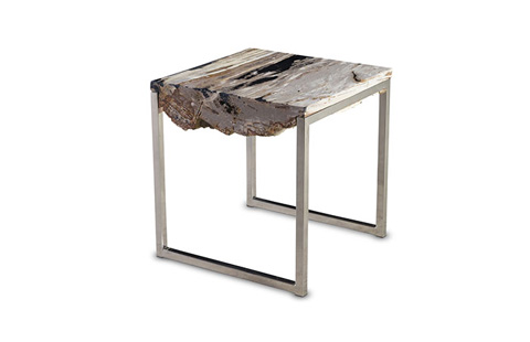 Phillips Collection - Petrified Wood Side Table - ID67157