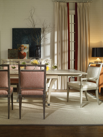 Vanguard - Rhodes Dining Table - 8701T