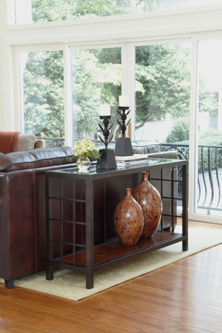 Thomasville Furniture - Glass Top Sofa Table - 81991-721