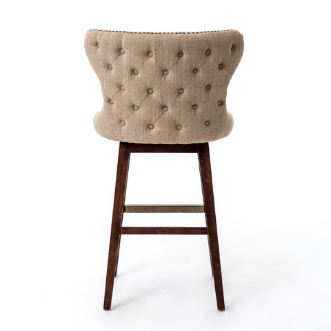 Four Hands - Hyde Clay Julie Swivel Barstool - CLIN-M5K-030