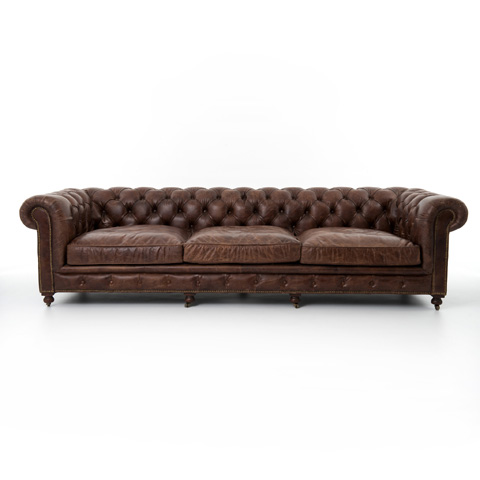 Image of Cigar Conrad Chesterfield Sofa