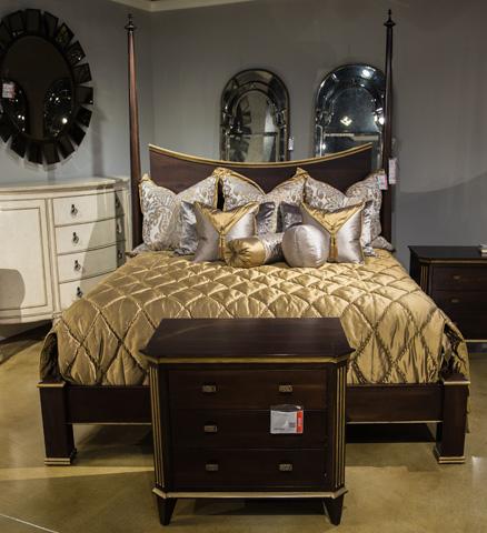 Image of Brompton Three Piece King Bedroom Set