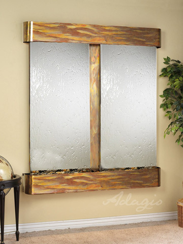 Adagio - Cottonwood Falls in Silver Mirror - CFR1040