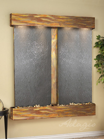 Adagio - Cottonwood Falls in Black Feather Stone - CFS1011