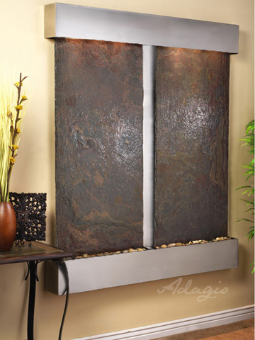 Adagio - Cottonwood Falls in Multi Color Slate - CFS2004