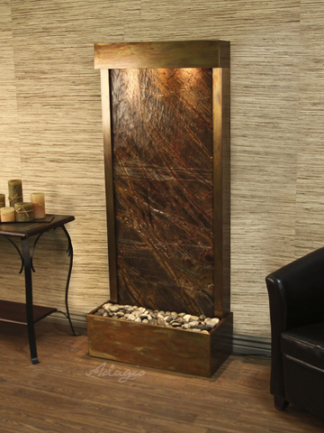 Adagio - Harmony River in Rainforest Brown Marble - HRF1006