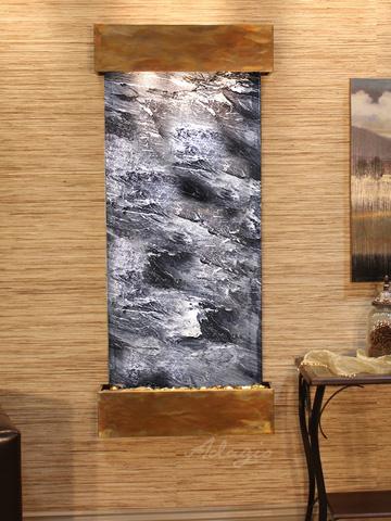 Adagio - Inspiration Falls in Black Spider Marble - IFS1007
