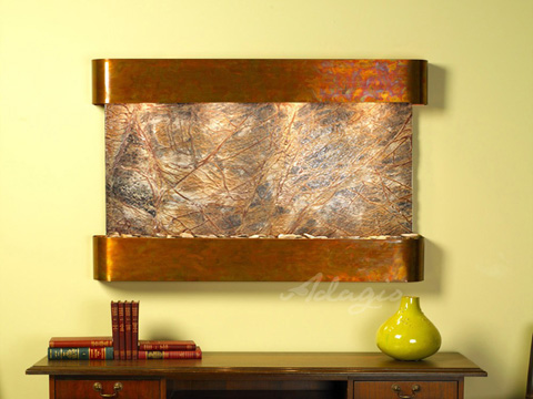 Image of Sunrise Springs in Rainforest Brown Marble