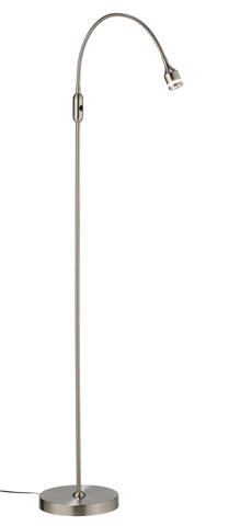 Adesso Inc., - Adesso Prospect One Light LED Floor Lamp in Steel - 3219-22