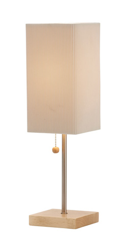 Image of Adesso Angelina One Light Table Lamp in Natural