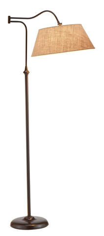 Adesso Inc., - Adesso Rodeo One Light Floor Lamp - 3349-26