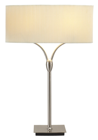 Adesso Inc., - Adesso Wishbone Two Light Table Lamp in Steel - 3444-22