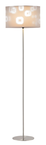 Adesso Inc., - Adesso Mystic Floor Lamp in Satin Steel - 3454-22