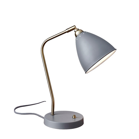 Image of Adesso Chelsea One Light Desk Lamp
