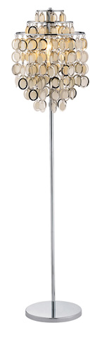 Adesso Inc., - Adesso Shimmy One Light Floor Lamp in Chrome - 3637-22