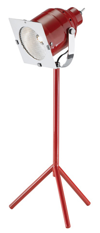 Adesso Inc., - Adesso Starlet One Light LED Desk Lamp in Red - 3800-08