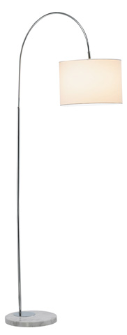 Adesso Inc., - Adesso Grace One Light Floor Lamp in Chrome - 3819-22