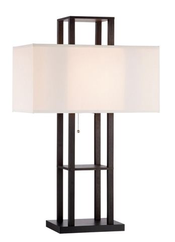 Adesso Inc., - Adesso Lloyd One Light Table Lamp in Black - 3823-01